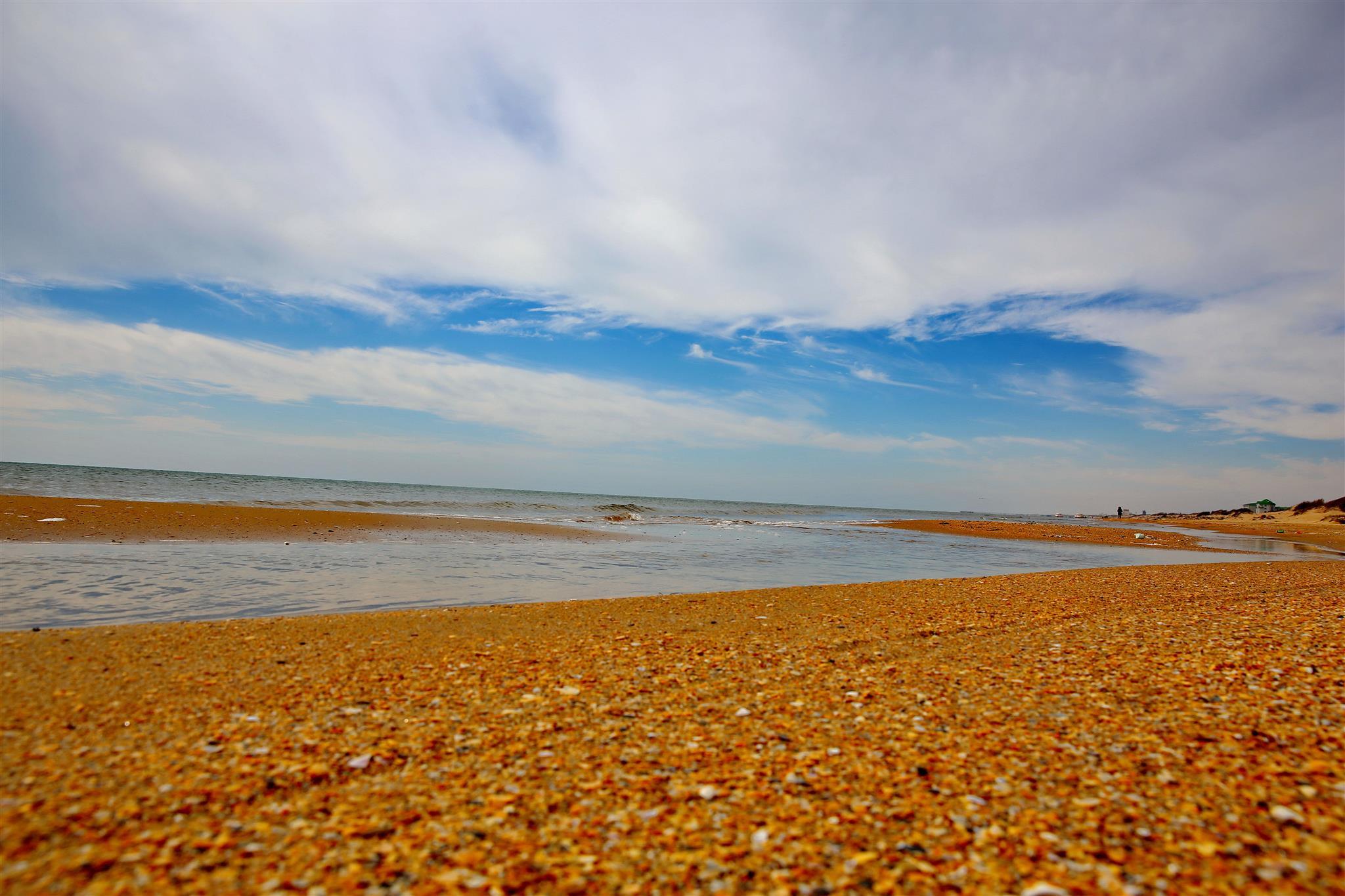Пляжи азовского моря фото